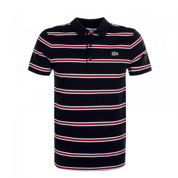 Herren Polo-Shirt YH1492 DES Stripe Black