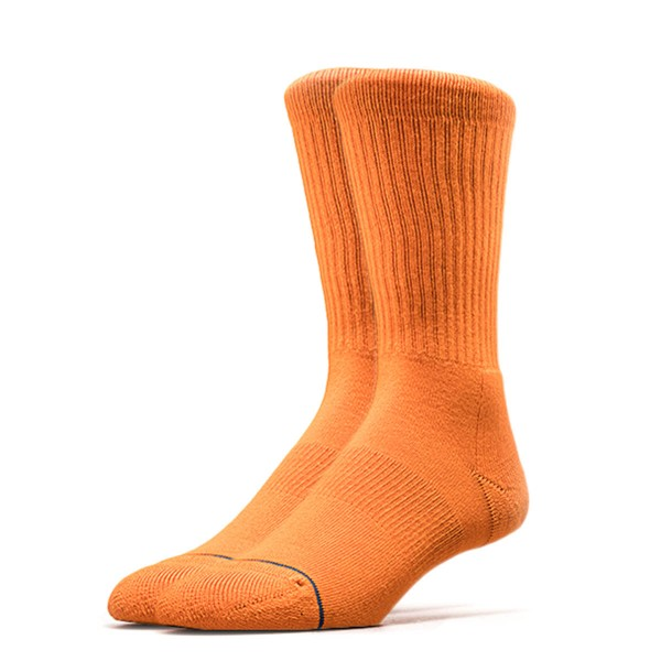 Stance Socks Uncommon Solids Icon Orange