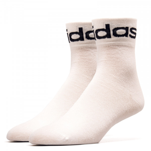 Socken - Fold Cuff Crew - White / Black