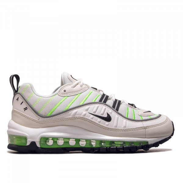 Damen Sneaker Air Max 98 White Black Lime
