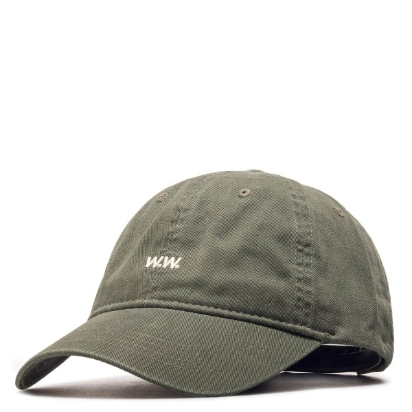WoodWood Cap Low Profile Green Wht