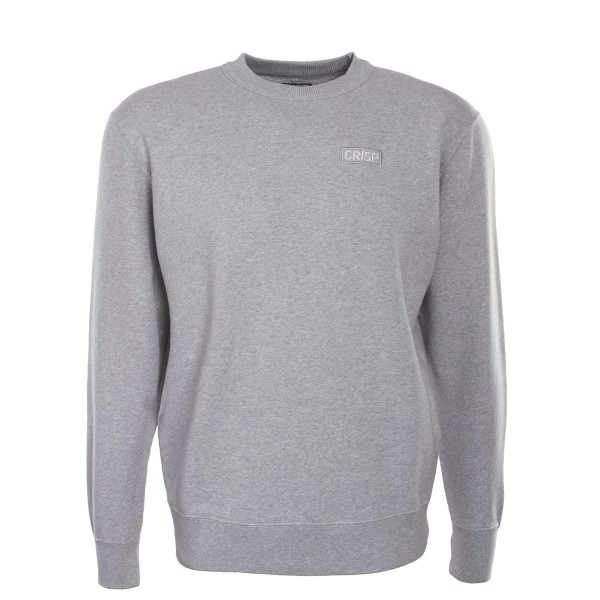 Crisp Sweat Embroidery Grey