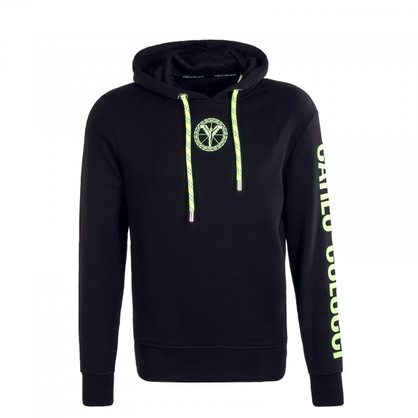 Herren Hoody C4221 201 Black Neon Yellow