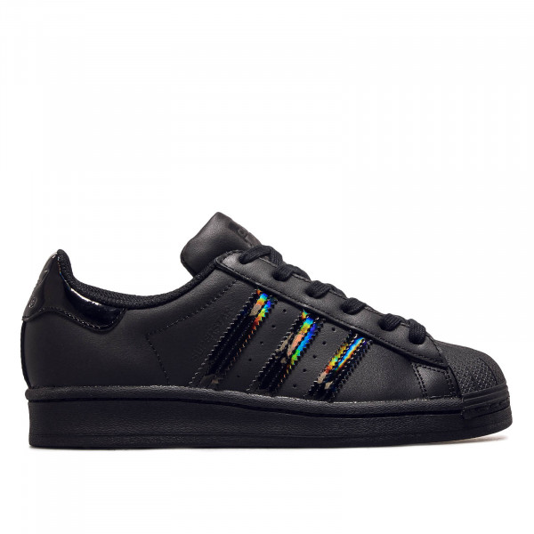 Damen Sneaker Superstar J Black Black