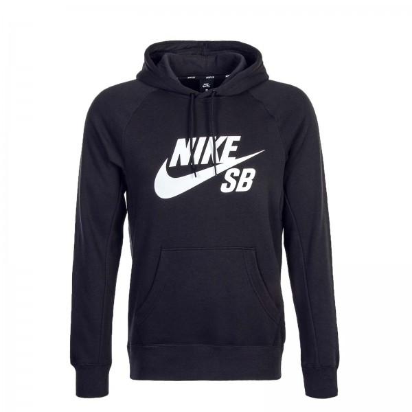Nike Hoody SB Icon PO Black White