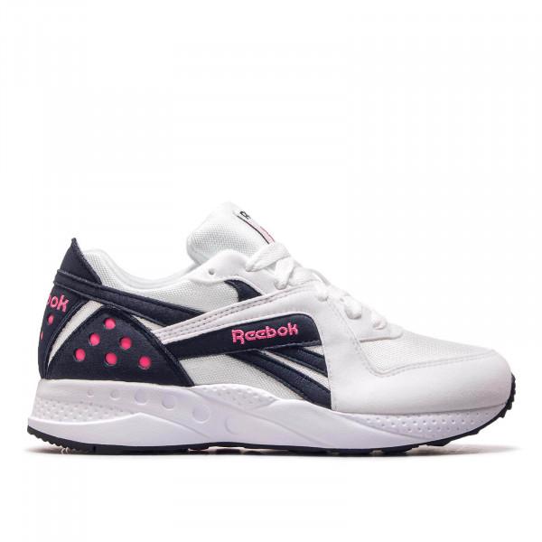 Reebok U Pyro White Navy Pink