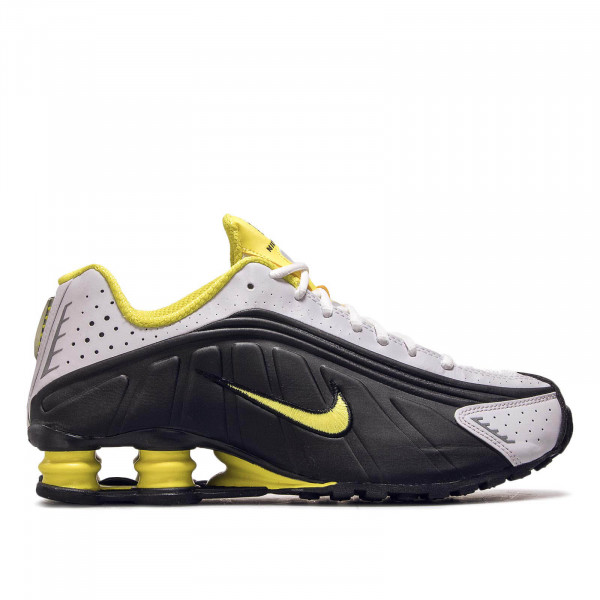 Herren Sneaker Shox R4 Black White Yellow