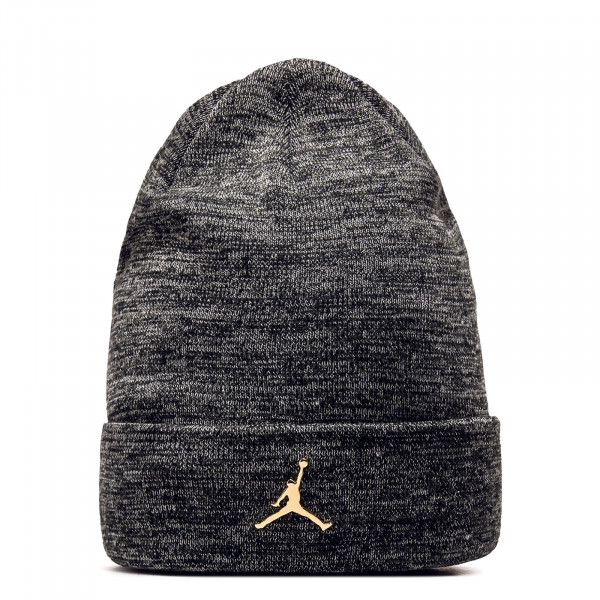Beanie - Jumpman Metall - Carbon / Gold