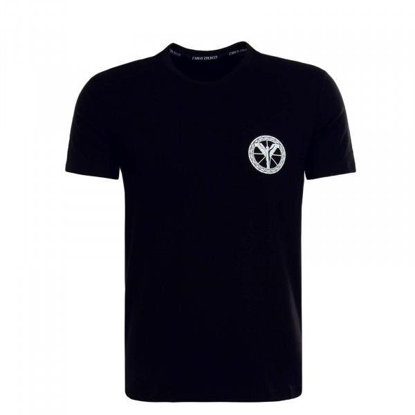 Herren T-Shirt - C2416 - Black White