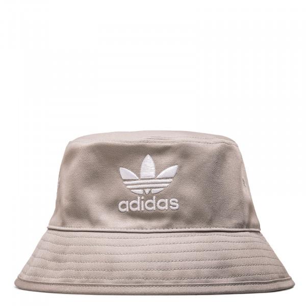 Bucket Hat - Grey / White