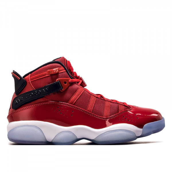 Jordan 6 Rings Red White