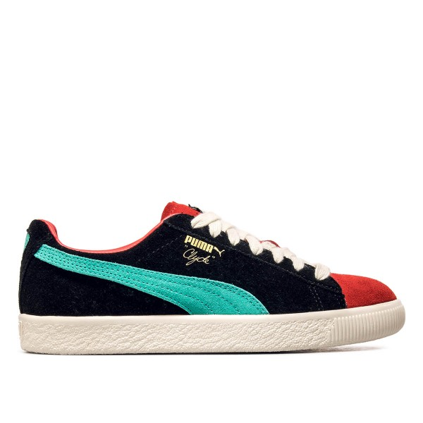 Puma Clyde From the Archive Black Red