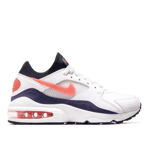 Nike Air Max 93 White Red Blue