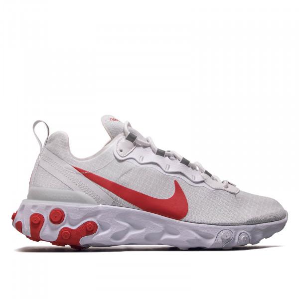 Herren Sneaker React Element 55 SE SU19 White Red