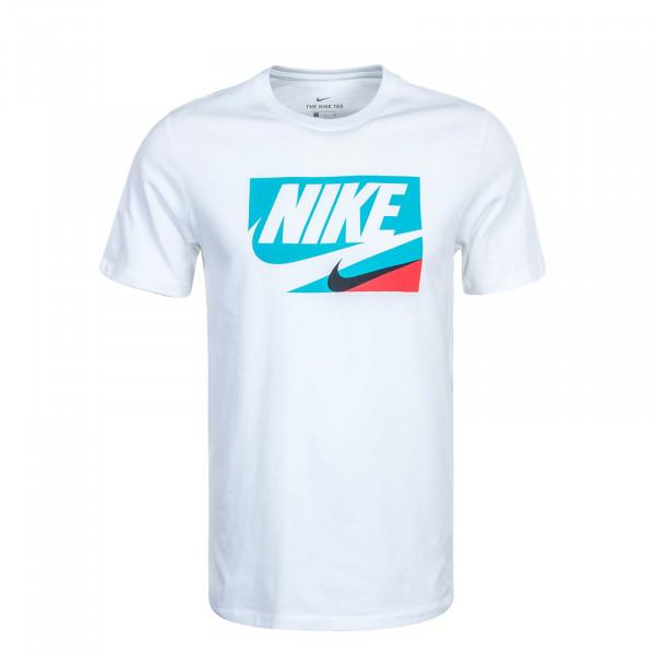 Herren T-Shirt NSW Core 1 CU0083 White