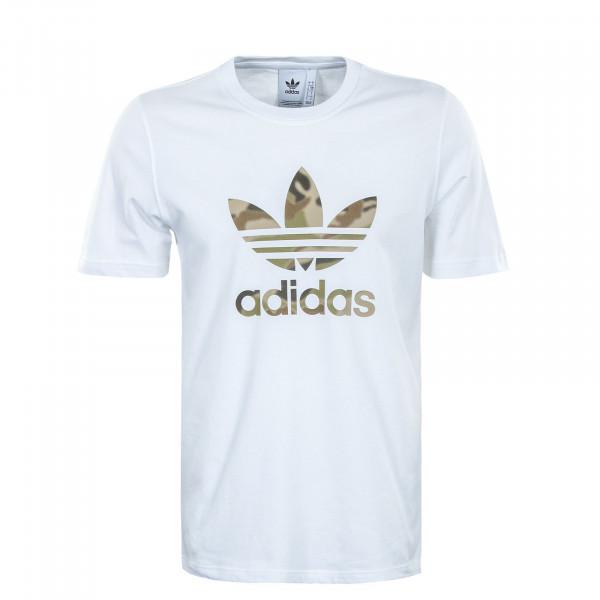 Herren T-Shirt - Camouflage Infill - White / Wild Pine Mel / Multicolor