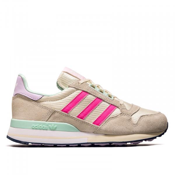 Damen Sneaker - ZX 500 - Core White / Solar Pink / Clear Pink