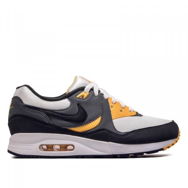 Herren Sneaker Light White Black Grey Yellow