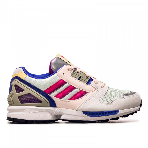 Damen Sneaker - H02148 - White / Green / Pink