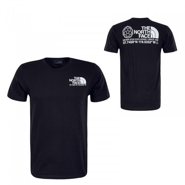Herren T-Shirt - Coordinates - Black