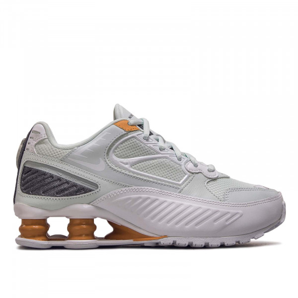 Damen Sneaker Shox Enigma 9000 White Aqua Brown