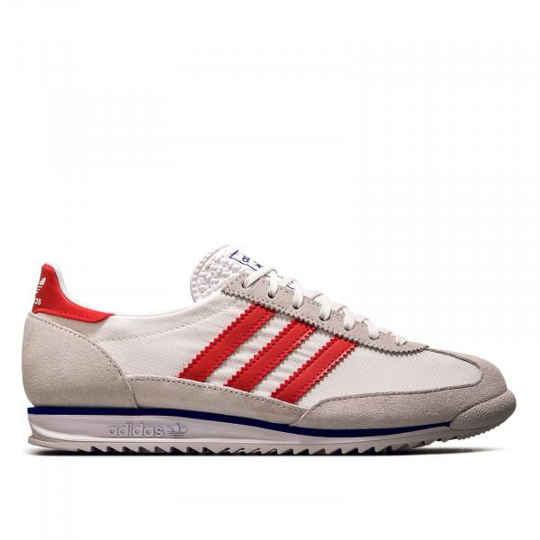 Unisex Sneaker - SL 72 - Greone / White / Vivid Red