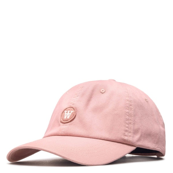 WoodWood Cap Eli Peach White