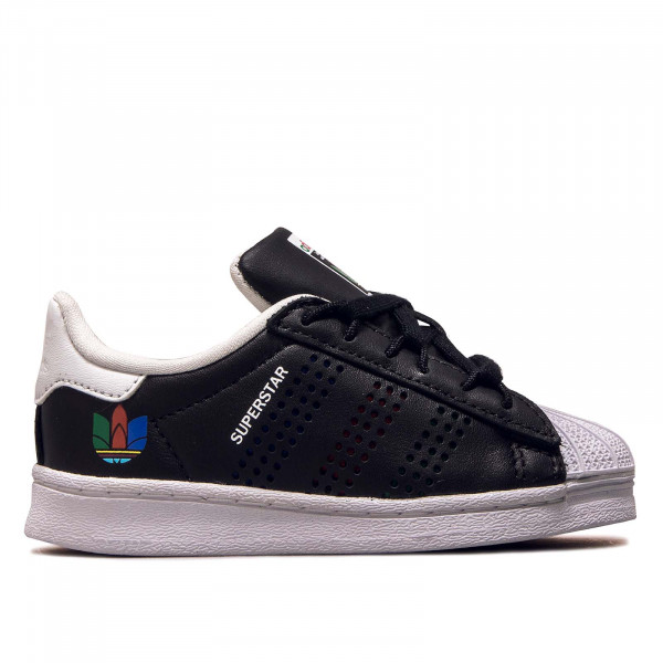 Kids Sneaker Superstar I Black Green White