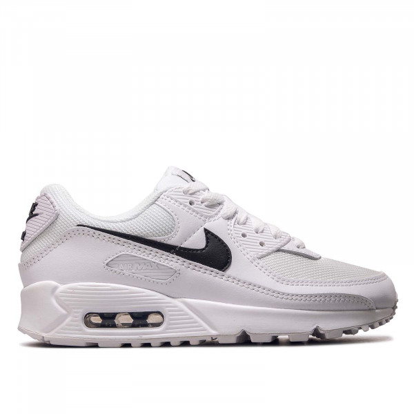 Damen Sneaker Air Max 90 White Black White