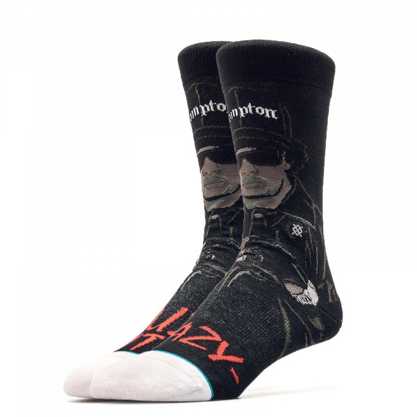 Stance Socks Anthem Eazy Duz It Black