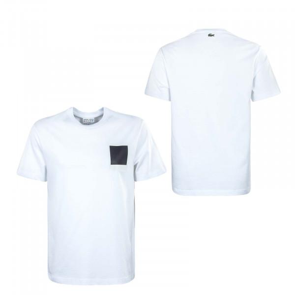 Herren T-Shirt - Lacoste x Polaroid - White