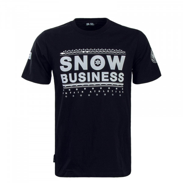 Unfair TS Snow Business Black White