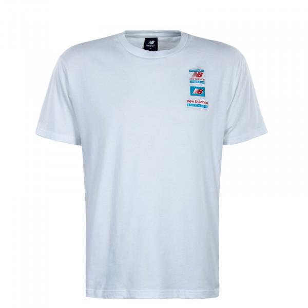 Herren T-Shirt - New Balance Essential - White