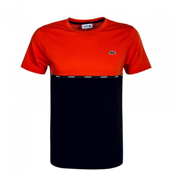 Herren T-Shirt 6257 Rouge Black