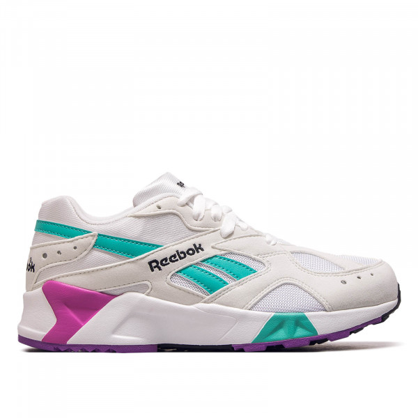 Reebok Aztrek White Green Purple