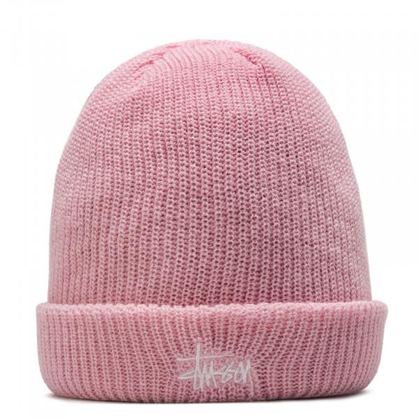 Stüssy Beanie Basic Cuff Pink