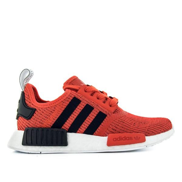 Adidas U NMD R1 Red Black