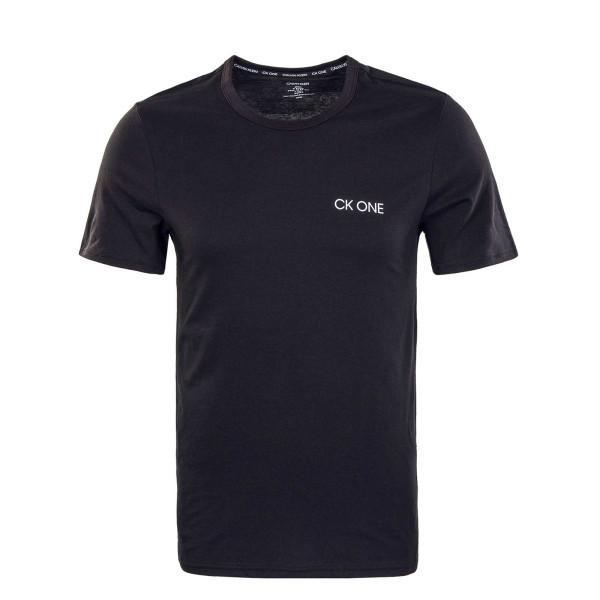Herren T-Shirt - Crew Neck 2102 - Black