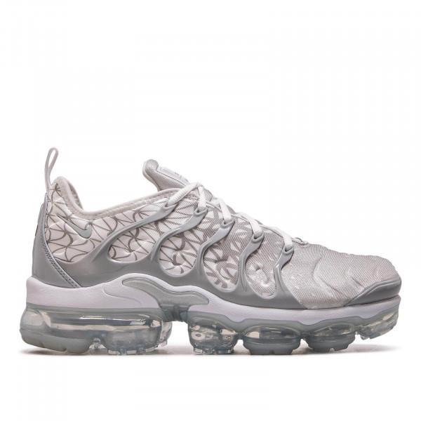 Herren Sneaker Vapormax Plus White Silver Grey