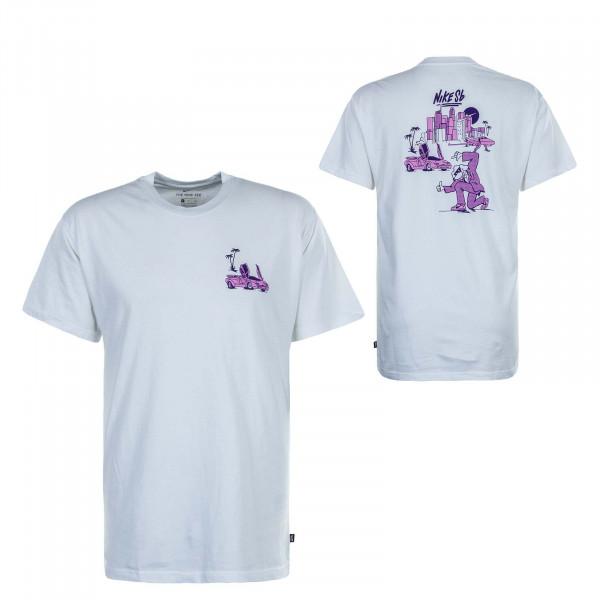 Herren T-Shirt SB Vice White