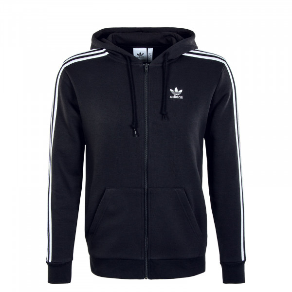 Herren Sweatjacke - 3 Stripes FZ - Black