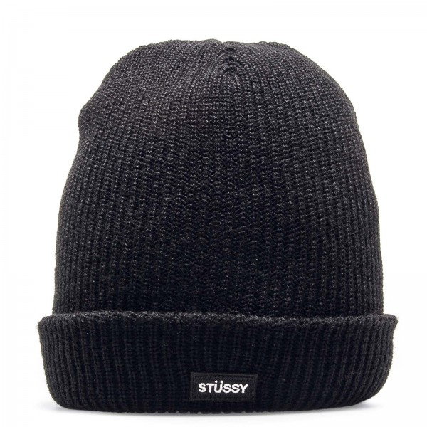 Stüssy Beanie Watch Black