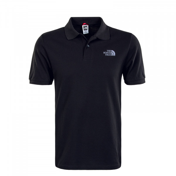Herren Poloshirt - Piquè Black