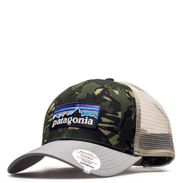 Patagonia Cap Logo Beige Camo Grey