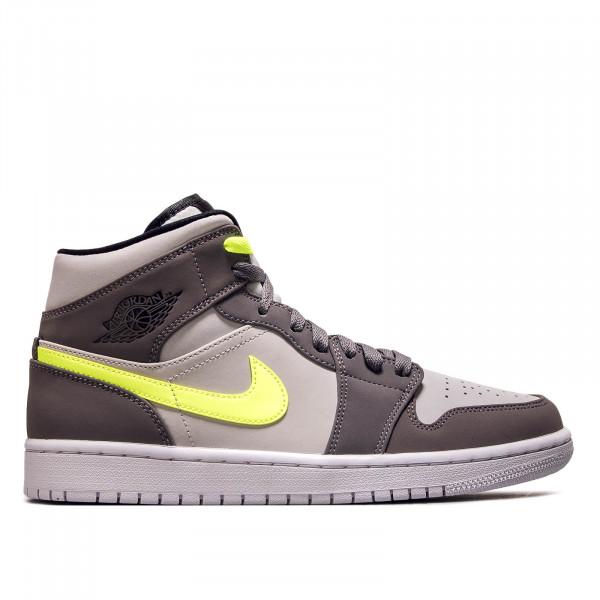 Herren Sneaker Air Jordan 1 Mid Grey Neo