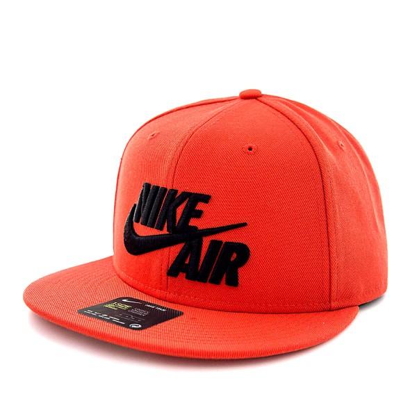 Nike Cap Nk Air True Classic Red Black