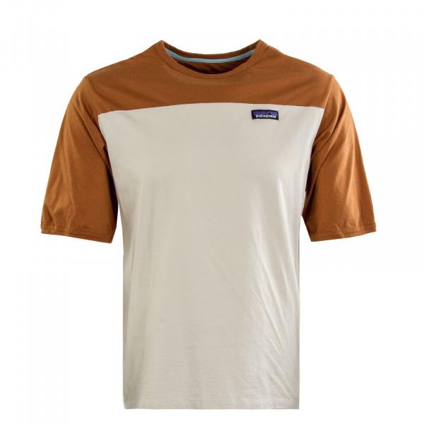 Herren T-Shirt - Cotton in Conversion - Brown / Beige