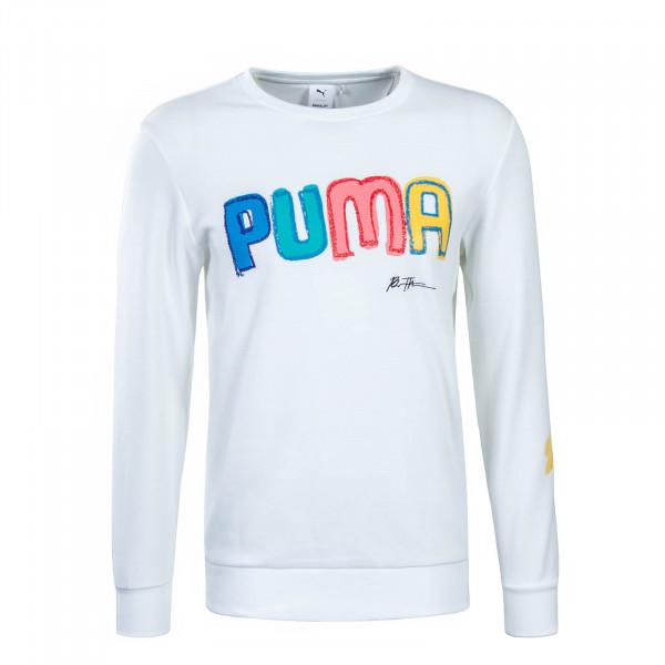 Puma X Sweat Bradley Crew White