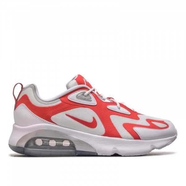 Herren Sneaker Air Max 200 White Red