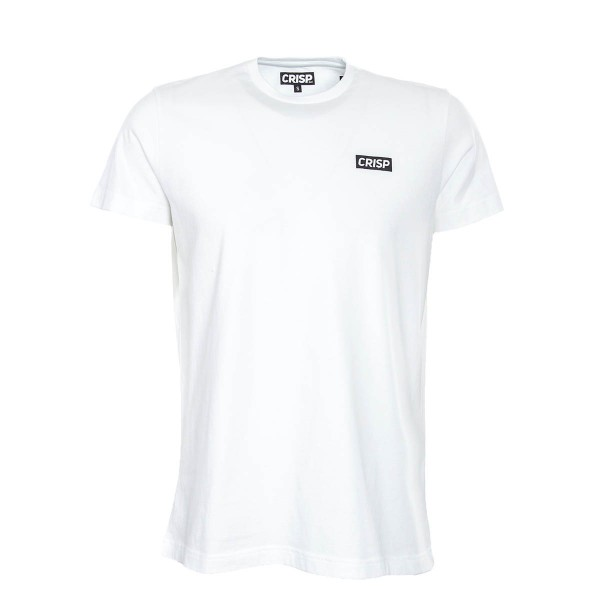 Crisp TS Small Print White Black
